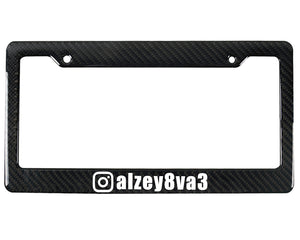 IG FRAME CUSTOM | Custom | License Plate Frame
