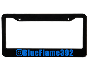 BlueFlame392 | Custom | License Plate Frame