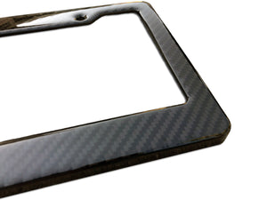 FOLLOWING TOO CLOSE <br> Custom <br> License Plate Frame
