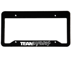 TEAM SIMPLEXITY V2 <br> Custom <br> License Plate Frame