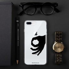 Load image into Gallery viewer, MEME FRAMES <br> iPhone Case <br> See-Through | Black Logo