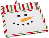 DII Snow Fun Snowman Kitchen Gift Set, Includes 1 Potholder and 1 Dishtowel