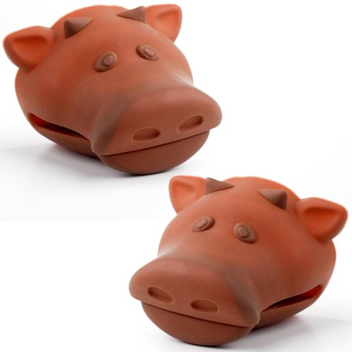 Brown Cow Silicone Pot Holders **Matching Set of 2**