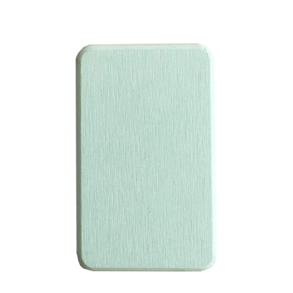 Cuteboom Soap Diatom Mat Stone Coasters Absorbent Bar Soap Dish Saver for Bathroom Sink Accessories (Green)