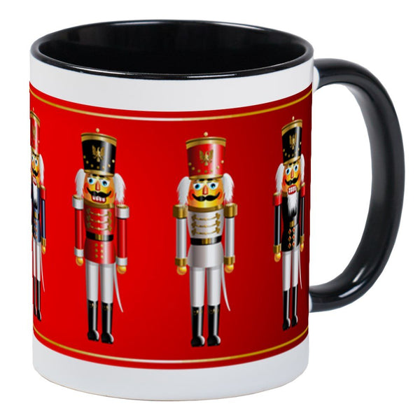 CafePress Nutty Nutcracker Toy Soldiers Mug Unique Coffee Mug, Coffee Cup