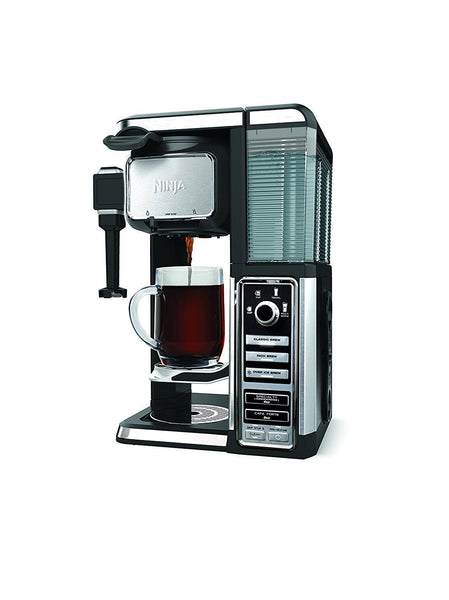 Ninja Coffee Bar Pod-Free Single-Serve System w/ Built in Frother CF111 (Certified Refurbished)