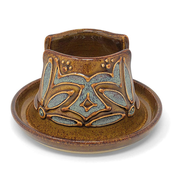 AshenWren Ceramics Sponge Holder, Emerald Green