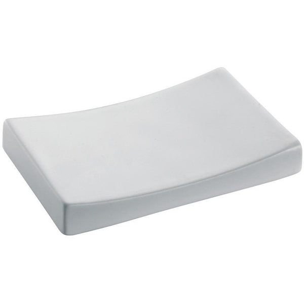 BA Domino Bathroom Soap Dish Holder Ceramic Tray Soap Holder