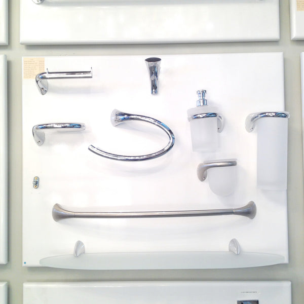 Colombo Design Bathroom Accessory  Link 9-Piece