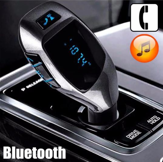 LCD Wireless Bluetooth FM Car Transmitter MP3 Player