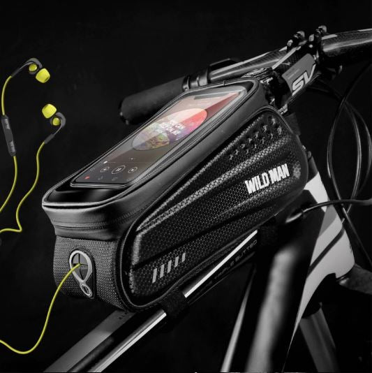 Waterproof Smart Phone Bike Mount Holder Frame Bag