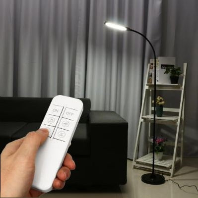 Dimmable LED Floor Reading Lamp With Remote