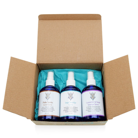 Smudge Spray Gift Set