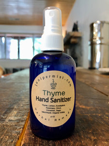Herbal Hand Sanitizer With Organic Alcohol