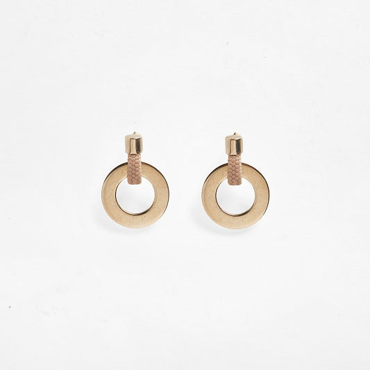 Noor Earrings Beige