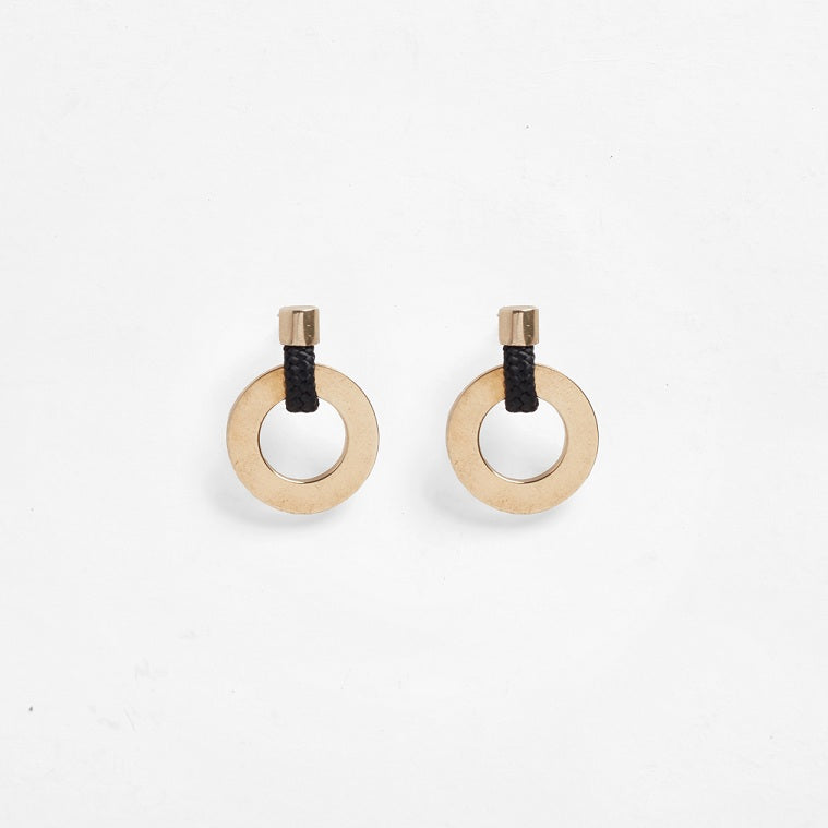 Noor Earrings Black