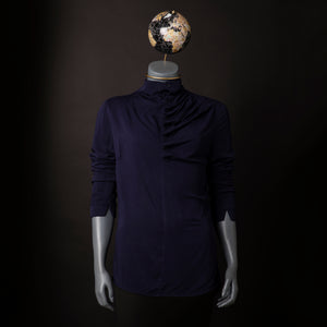 Ruffle Neck Shirt