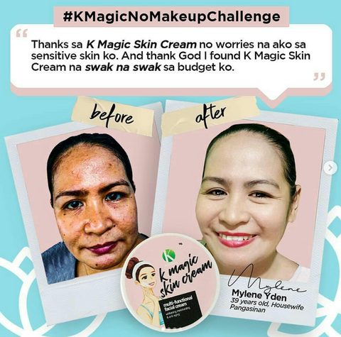 k Magic face cream