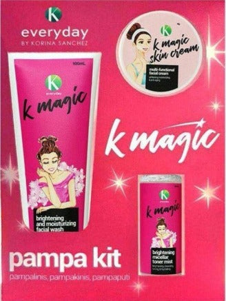 K Magic PamPa Kit for Face ( anti-aging in 3 steps)