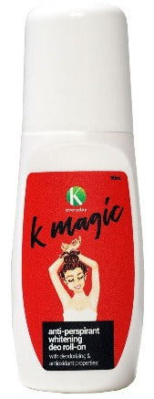 K Magic Anti-Perspirant Whitening Deo Roll-On