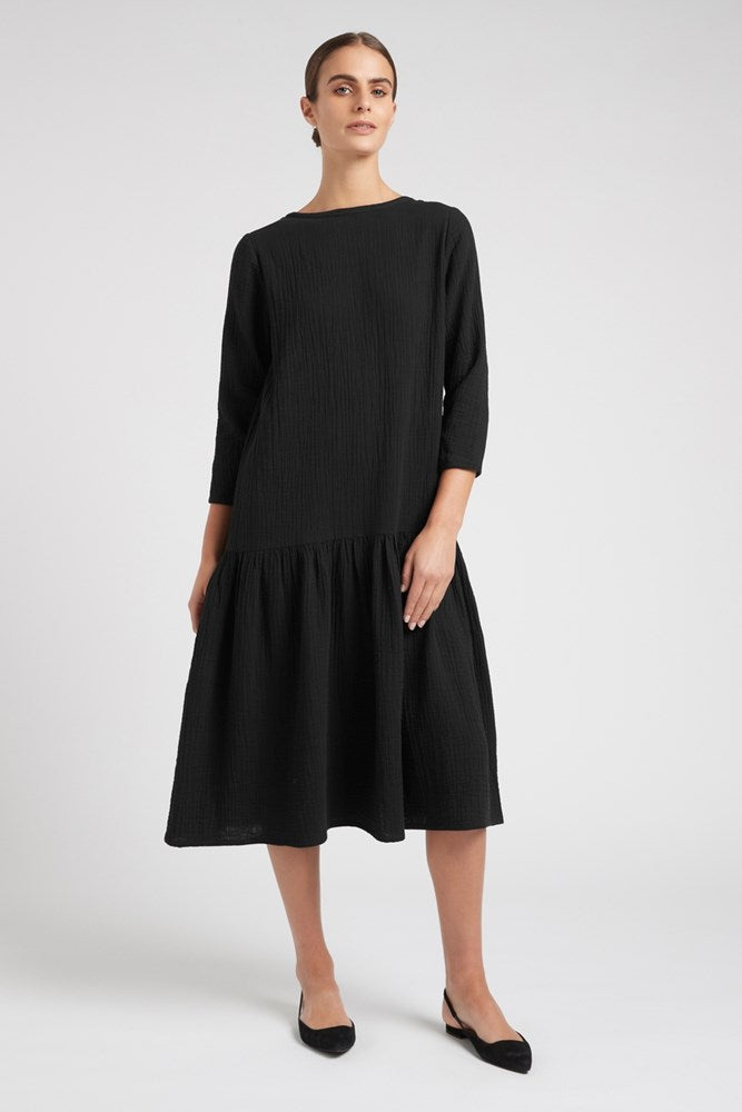 Play Smart LS Midi Dress