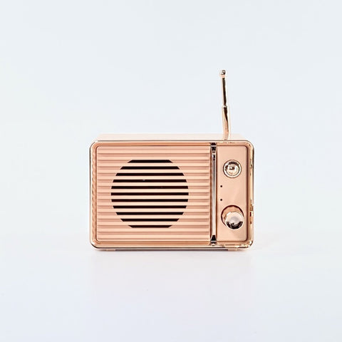 Cute Retro Radio Bluetooth Speaker