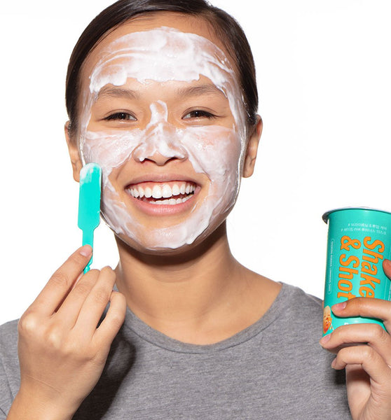 Shake & Shot™ Rubber Brightening Mask