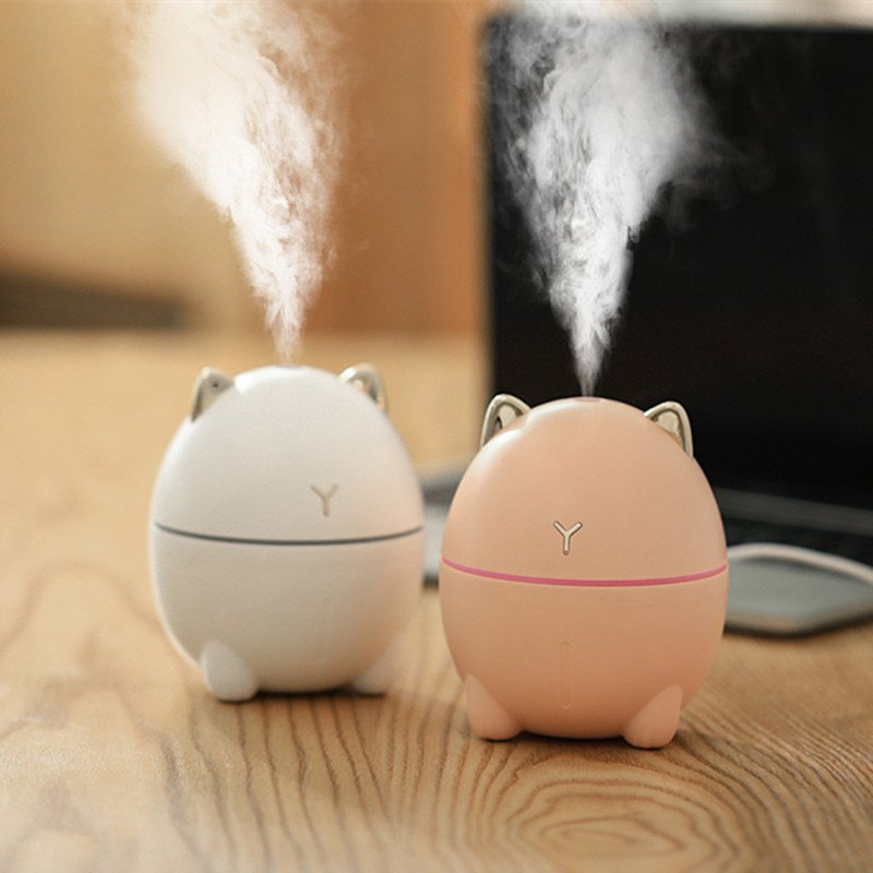 Cute Cat Mini Humidifier