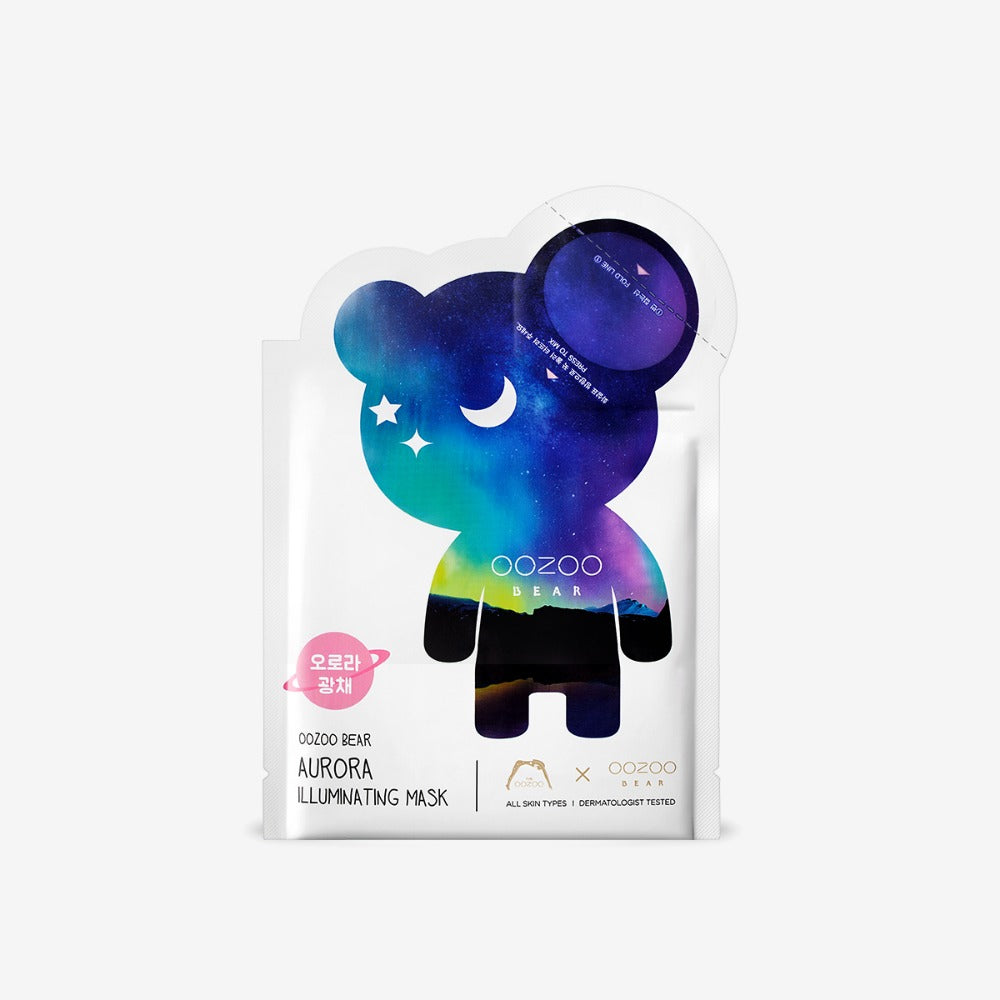 Bear Aurora Illuminating Mask
