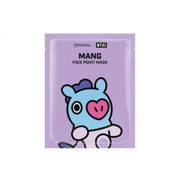 BT21 - MANG Face Point Mask