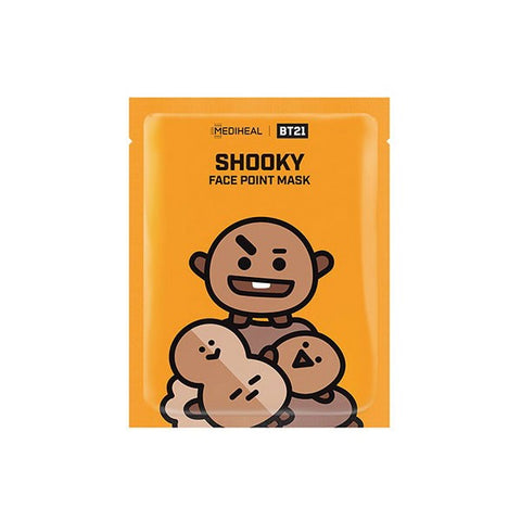 BT21 - SHOOKY Face Point Mask