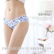 Load image into Gallery viewer, 6Pcs/lot Cotton Panties Women Underwear Sexy Briefs Seamless Cute Print Briefs Soft Comfort Plus Size XXXL Girls Lingeries