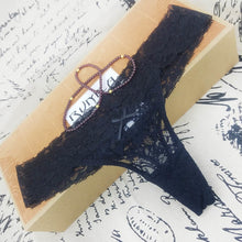 Load image into Gallery viewer, Adjusted Sexy Cozy Thong Underwear