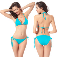 Load image into Gallery viewer, New Women Bikini Set Push-up Unpadded Bra Swimsuit Swimwear