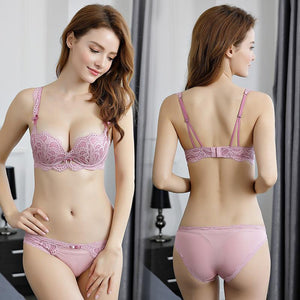 Sexy Lace Bra Set Women Underwear Set Push Up Bra