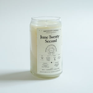 The June Twenty-Second Candle
