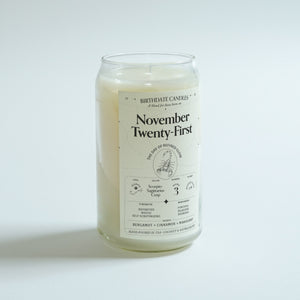 The November Twenty-First Candle
