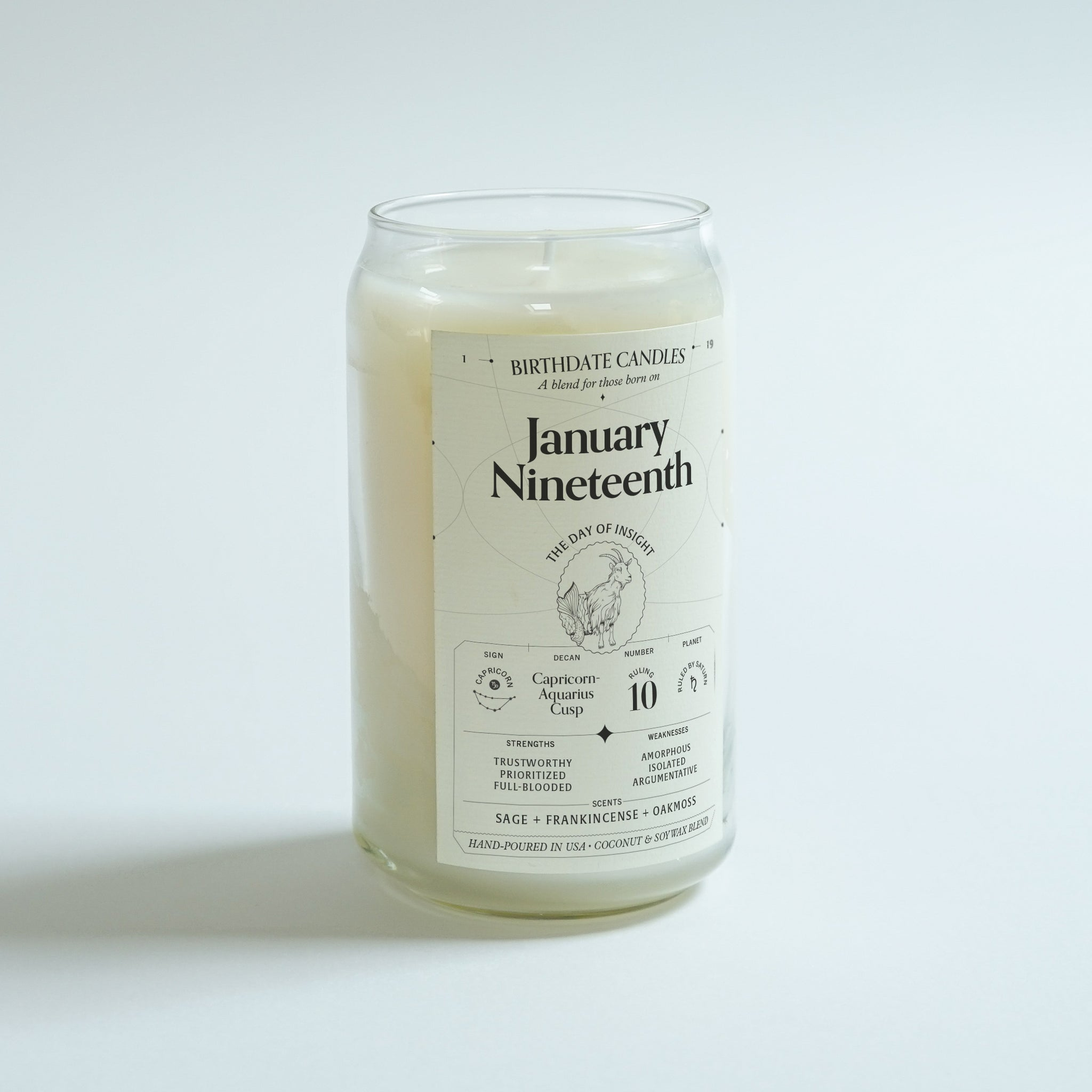 The January Nineteenth Candle