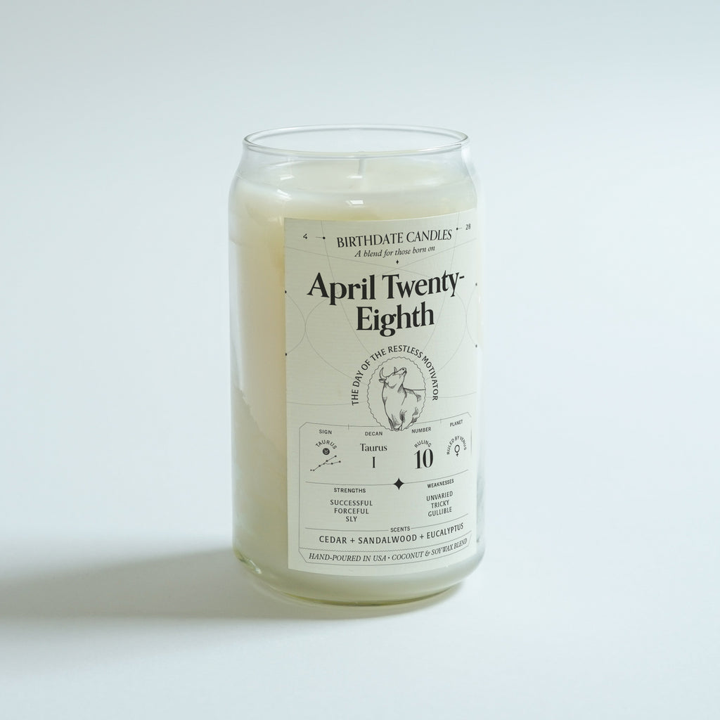 The April Twenty-Eighth Candle