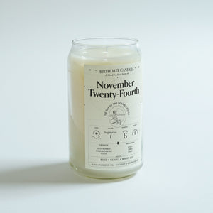 The November Twenty-Fourth Candle