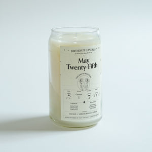 The May Twenty-Fifth Candle