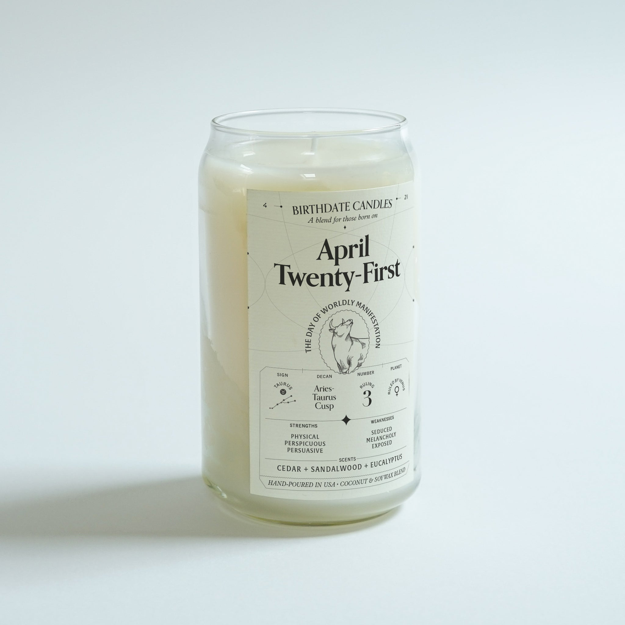 The April Twenty-First Birthday Candle