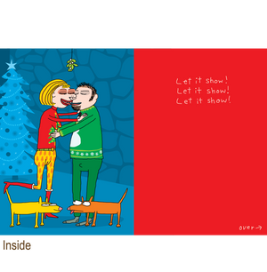 587 Mistletoe/Cameltoe (Christmas Card)