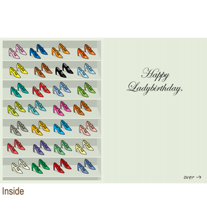 683 Ladyboner Shoes (Birthday Card)