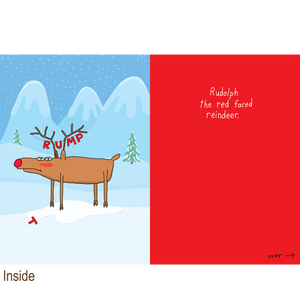 729 Rudolph the Red Faced Reindeer