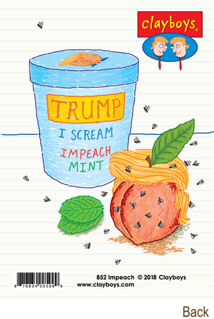 852 Impeach (Any Occasion Card, Birthday Card)
