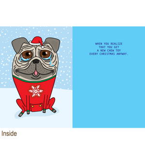 864 Chew Toy (Christmas Card)