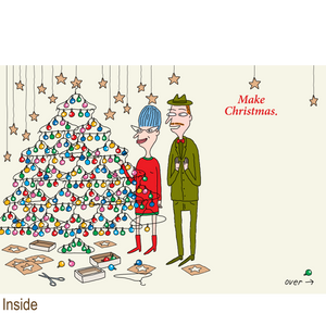 871 Make Christmas (Christmas Card)