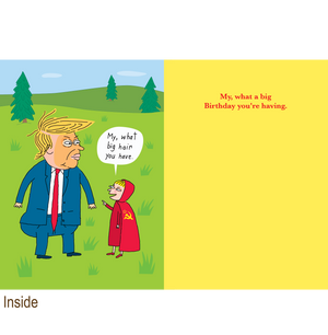 880 Little Red Riding Hood (Birthday Card)