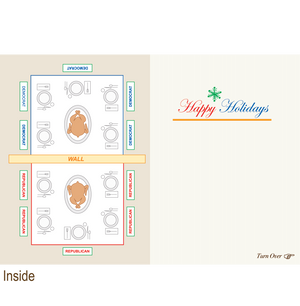 897 Seating Plan (Christmas Card)